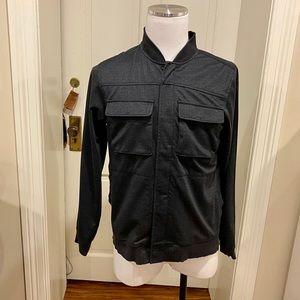 Tunellus Mens  Zip Front Varsity Jacket